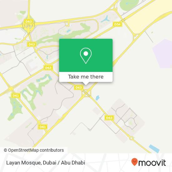 Карта Layan Mosque