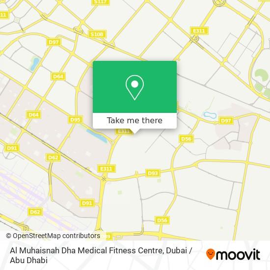 Карта Al Muhaisnah Dha Medical Fitness Centre