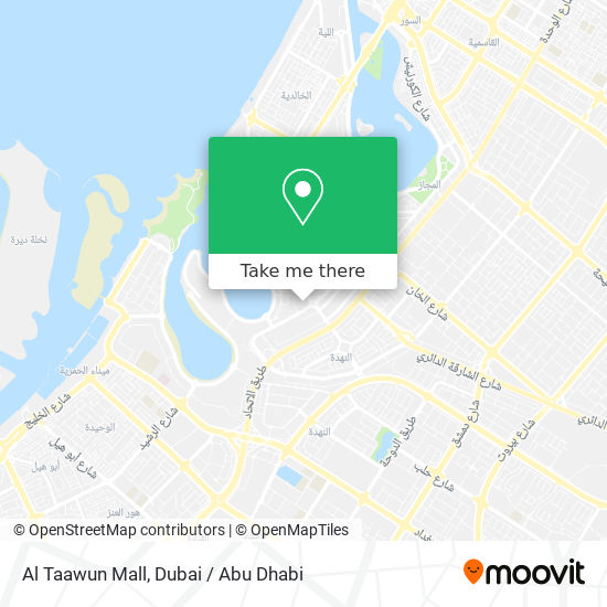 Al Taawun Mall plan
