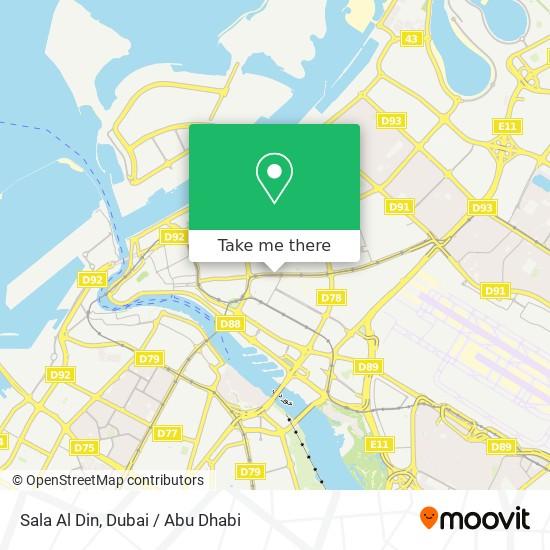 Sala Al Din plan