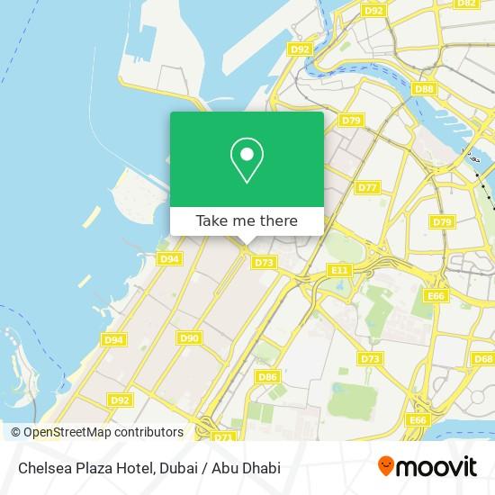 Chelsea Plaza Hotel Karte