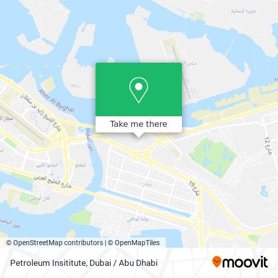 Карта Petroleum Insititute