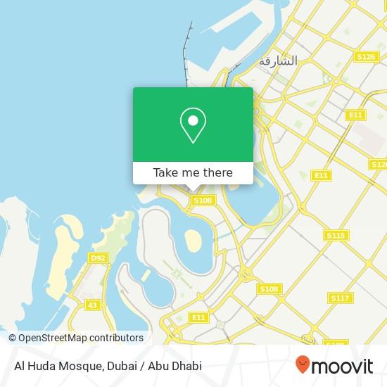 Al Huda Mosque plan