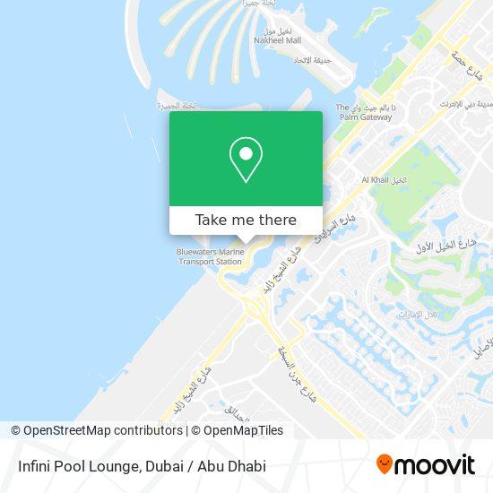 Infini Pool Lounge Karte