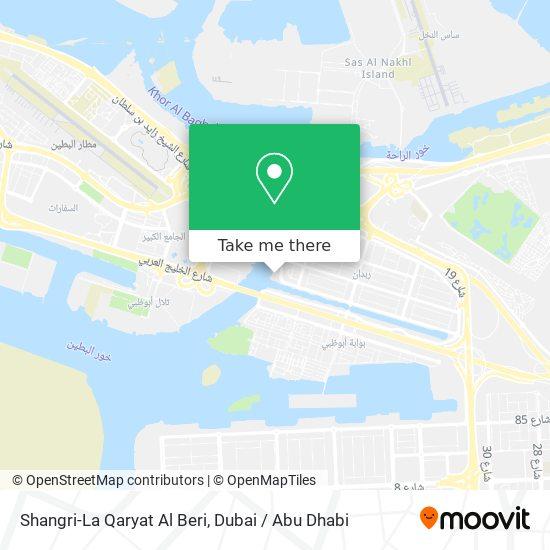 Карта Shangri-La Qaryat Al Beri