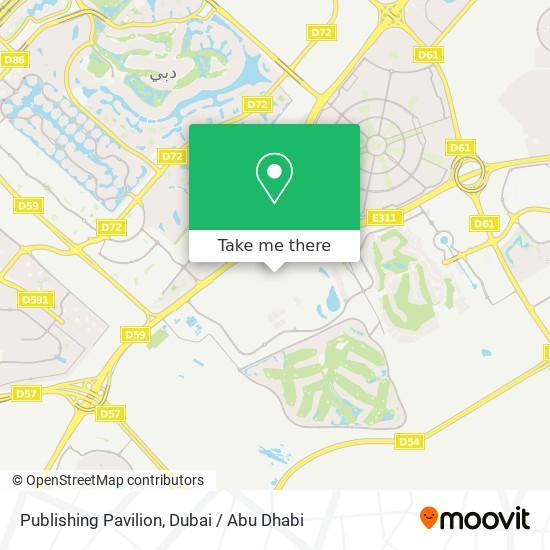 Publishing Pavilion Karte