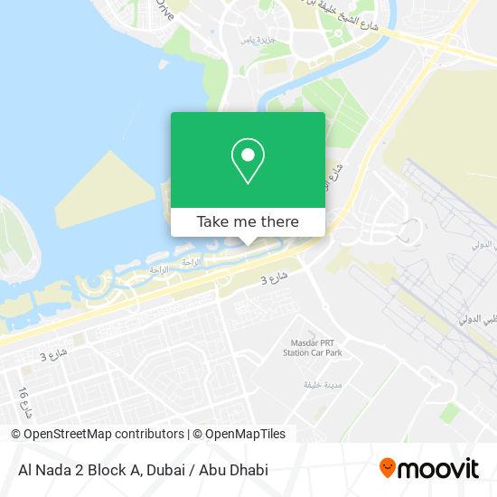 Карта Al Nada 2 Block A