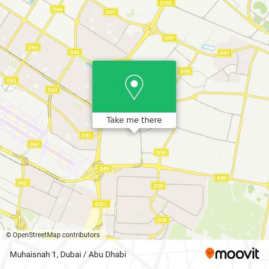 Карта Muhaisnah 1