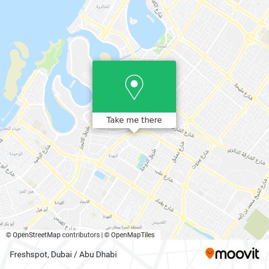 Freshspot Karte