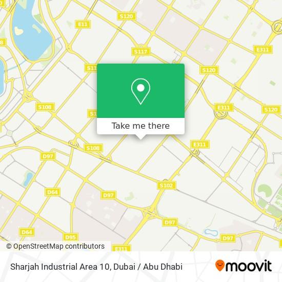 Sharjah Industrial Area 10 plan