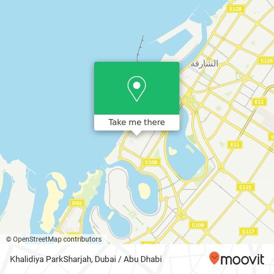 Khalidiya ParkSharjah plan