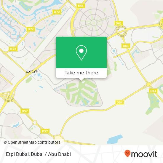 Etpi Dubai plan
