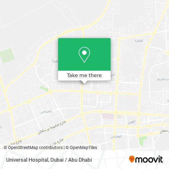 Al Ain Cromwell Hospital plan