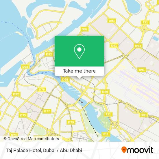Taj Palace Hotel plan