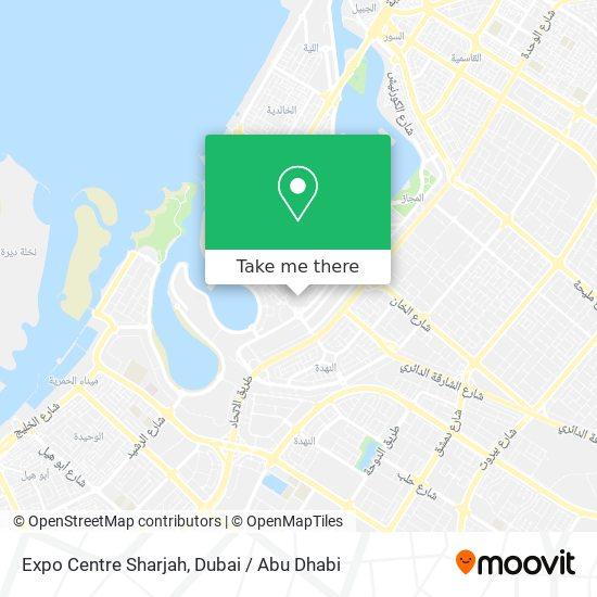 Expo Centre Sharjah plan