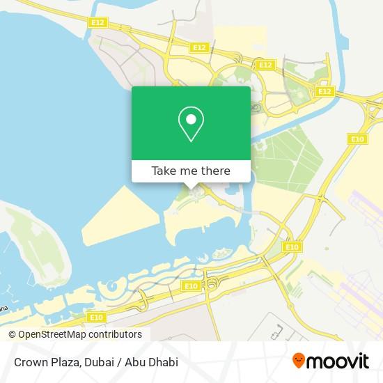 Crown Plaza Karte