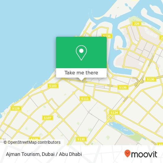 Карта Ajman Tourism