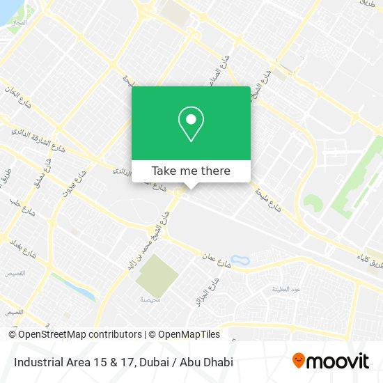Industrial Area 15 & 17 Karte
