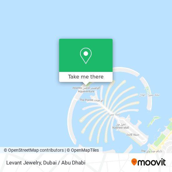 Levant Jewelry map