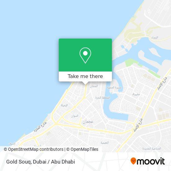 Gold Souq Karte