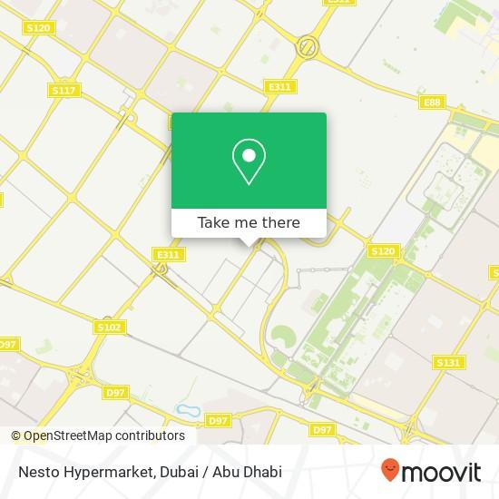 Nesto Hypermarket map