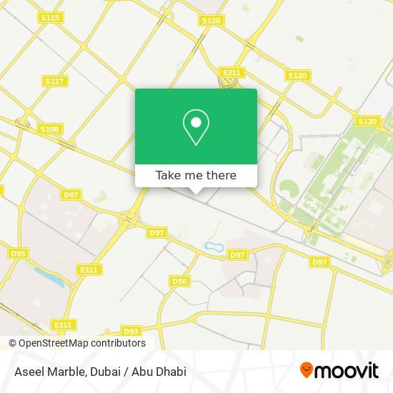 Aseel Marble Karte