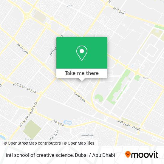 intl school of creative science map