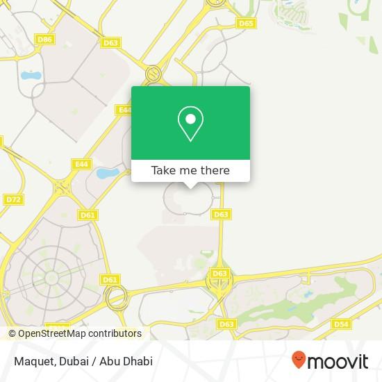 Карта Maquet