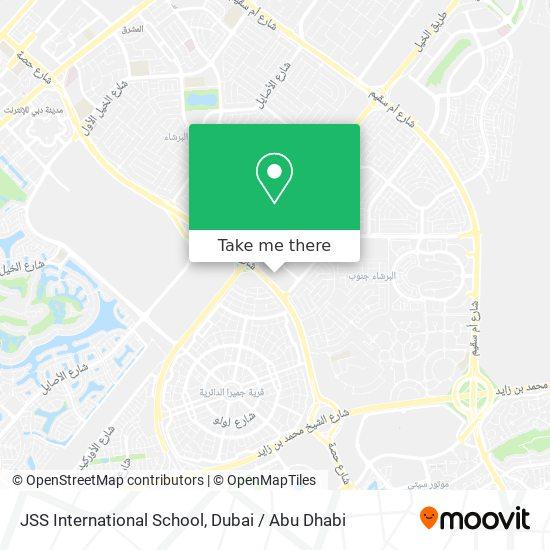 Карта JSS International School