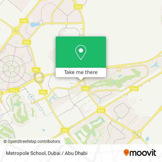 Metropole School Karte