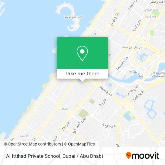 Al Ittihad Private School map