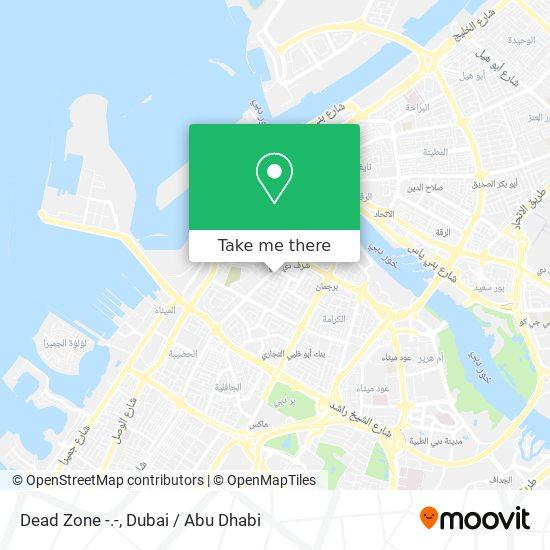 Dead Zone -.- map