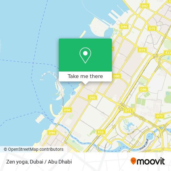 Zen yoga map