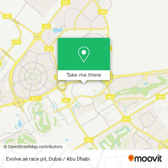 Карта Evolve.ae race pit