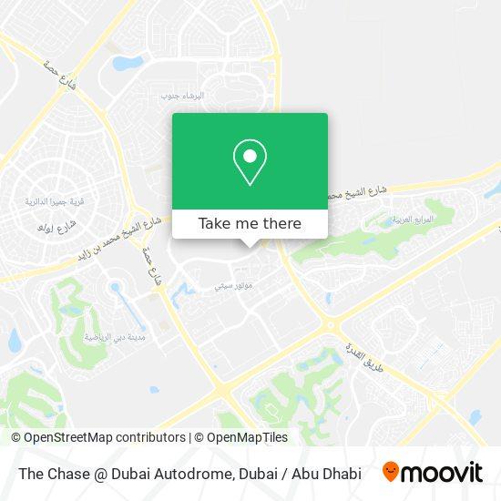 Карта The Chase @ Dubai Autodrome