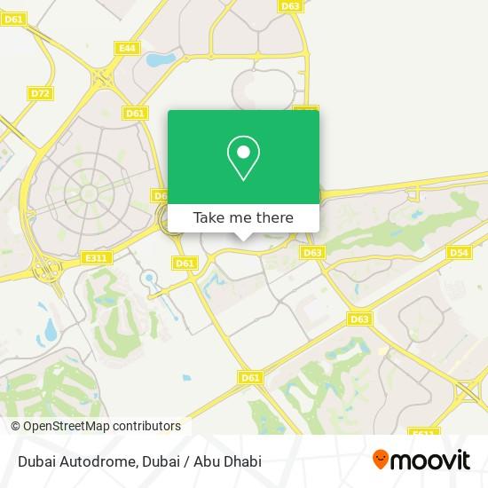 Dubai Autodrome plan