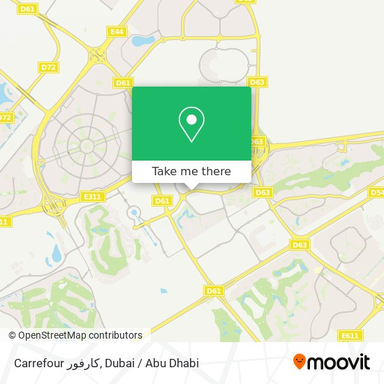 Carrefour كارفور plan