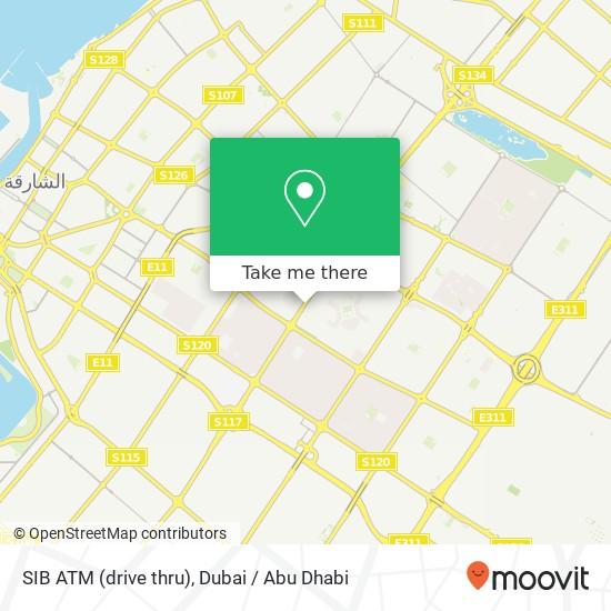SIB ATM (drive thru) plan