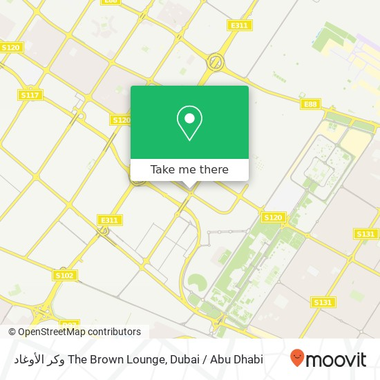Карта وكر الأوغاد The Brown Lounge