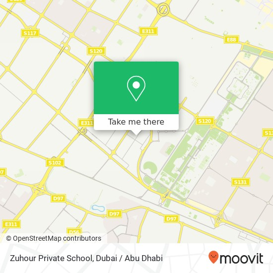 Zuhour Private School map