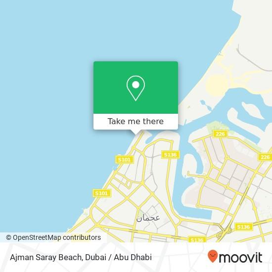 Карта Ajman Saray Beach