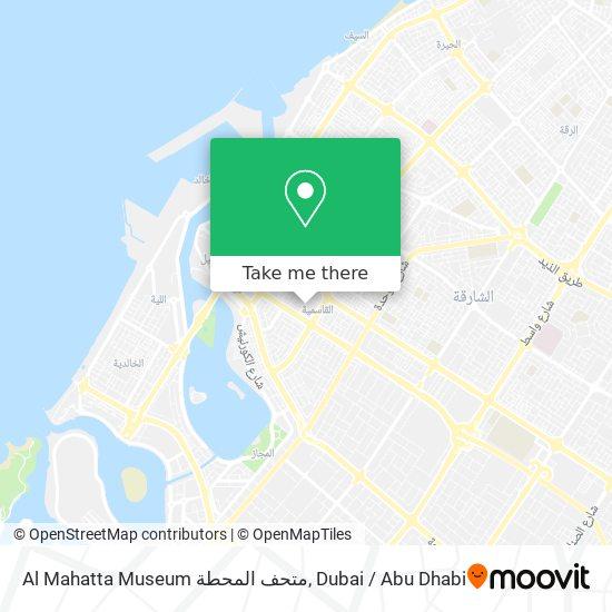 Al Mahatta Museum متحف المحطة plan