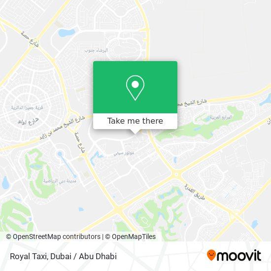 Карта Royal Taxi