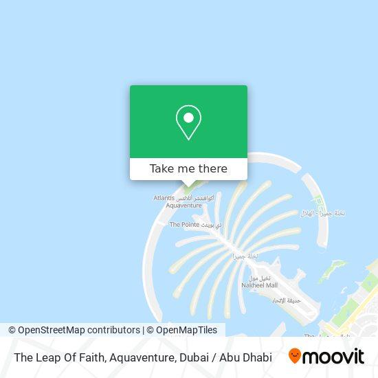 The Leap Of Faith, Aquaventure map