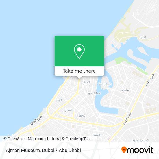 Карта Ajman Museum