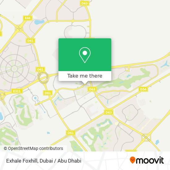 Карта Exhale Foxhill