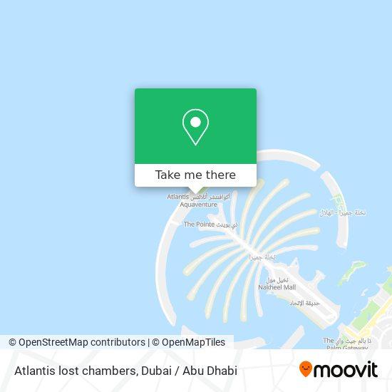 Atlantis lost chambers map