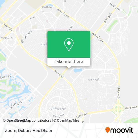Карта Zoom