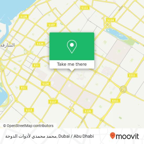محمد محمدي لأدوات الدوخة Karte