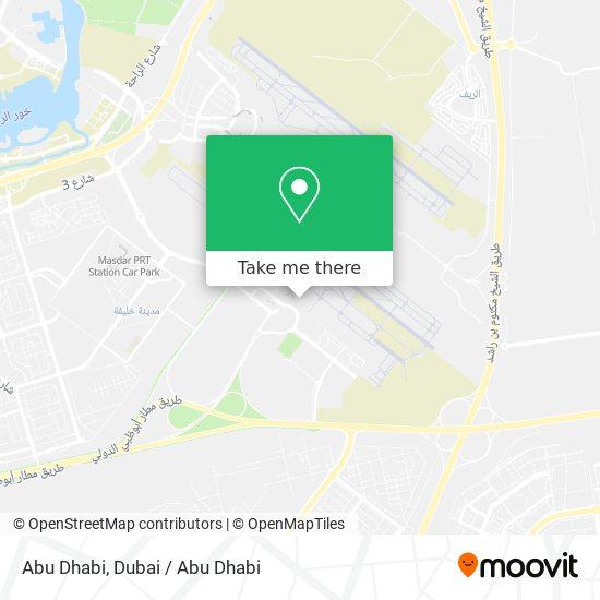Abu Dhabi Karte